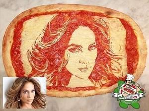Lucunya! Ada Potret Mario Bross, Beyonce Sampai JLo di Atas Pizza
