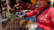 Nyamm! Tarantula Goreng yang Renyah Gurih Jadi Santapan Khas Kamboja