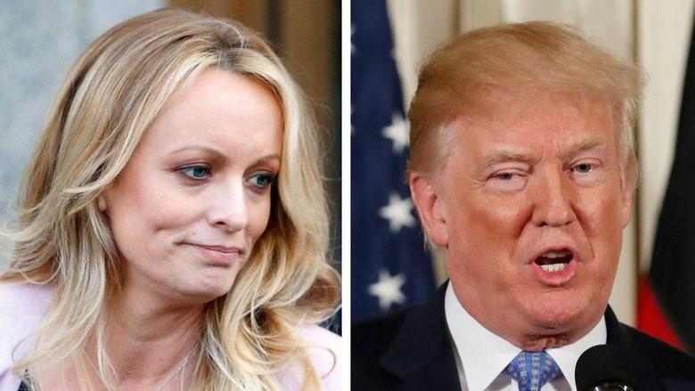 Trump Buka Suara Soal Uang Tutup Mulut untuk Bintang Porno