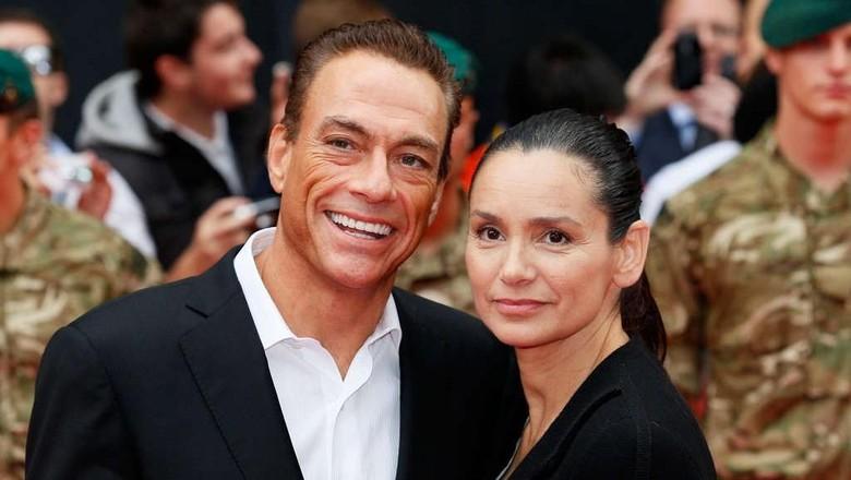 Jean-Claude Van Damme dan Gladys Portugues (Foto: Dok. Ist)