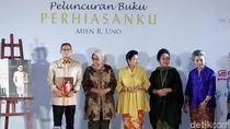 CT hingga Ani Yudhoyono Hadiri Peluncuran Buku Mien Uno