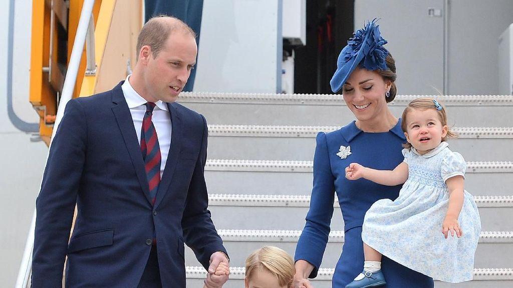 Pakai Barang Lungsuran Seperti Anak Kate Middleton? No Problem