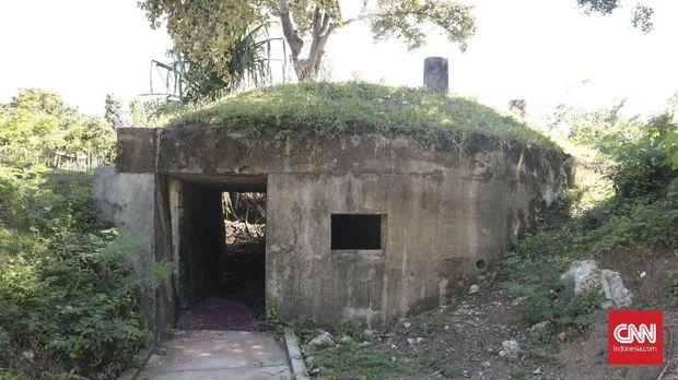 Salah satu bungker di Kompleks Benteng Batere A.