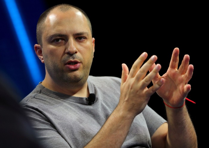 Pendiri dan CEO WhatsApp, Jan Koum. Foto: Reuters