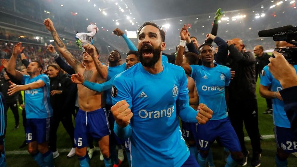 Marseille ke Final Liga Europa Setelah Jalani Laga 120 Menit