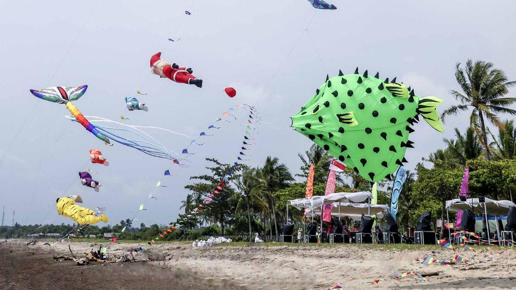 6 Negara Ramaikan Rhino Kites Festival Tanjung Lesung