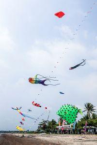 100 Layangan Hias Akan Diterbangkan di Tanjung Lesung