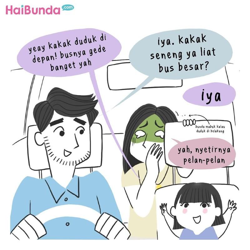 Untuk anak, orang tua melakukan yang terbaik. Apa saja hal-hal kecil yang siap dilakukan ayah dan bunda di komik ini untuk anaknya?