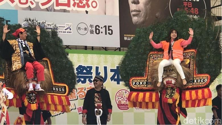 Bangganya Saat Reog Ponorogo Diundang Tampil di Jepang