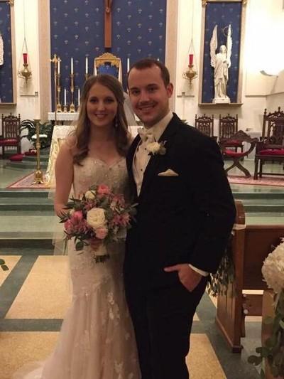 Anthony dan Jamie Burkett saat menikah. Foto: Facebook/Anthony Burkett