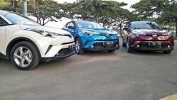 Toyota C-HR Juga Raih Lima Bintang Saat Uji Tabrak