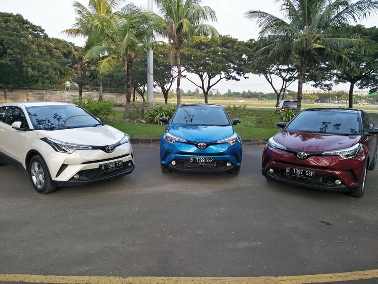Toyota C-HR. Foto: Ruly Kurniawan