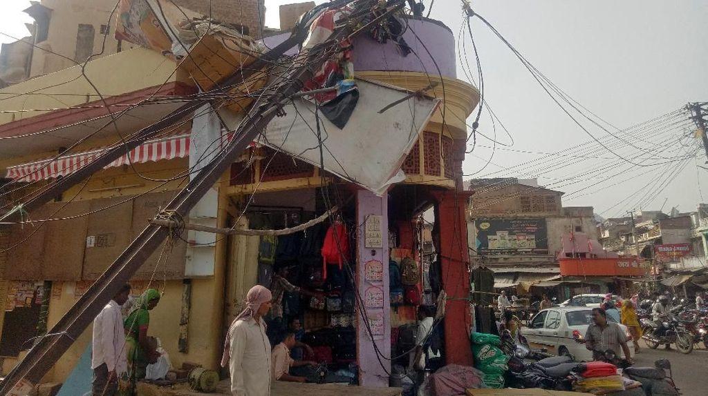 Korban Tewas Akibat Badai Pasir di India Bertambah Jadi 125 Orang