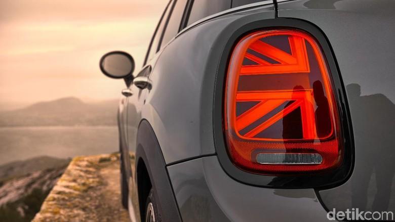 Lampu MINI model baru memakai desain ala Union Jack, bendera Inggris (Foto: MINI)