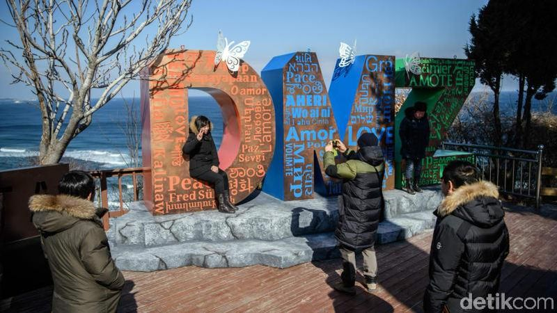 Wisatawan yang ingin kawasan DMZ perlu tahu aturan yang mengikat kunjungan ke sini. (Carl Court/Getty Images AsiaPac/Getty Images)