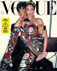 Gigi Hadid hampir tak dikenali di majalah Vogue Italia.