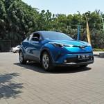 Toyota C-HR, Crossover Berbentuk Intan Berjalan
