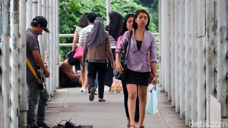 Pemprov DKI Akan Revitalisasi 12 JPO di Sudirman-Thamrin
