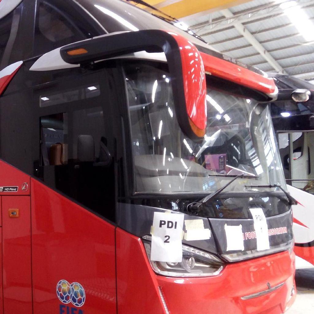 Sebelum Bangladesh, Bus Made In Ungaran Sudah Ekspor ke Fiji