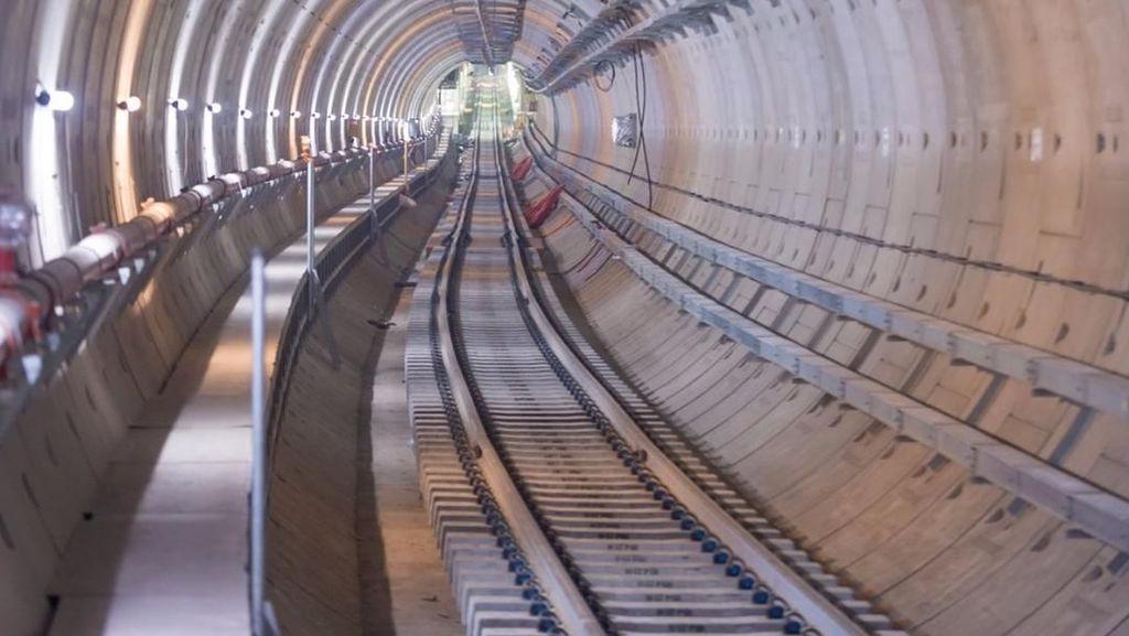 MRT Fase Bundaraan HI-Kampung Bandan Lewat Bawah Tanah
