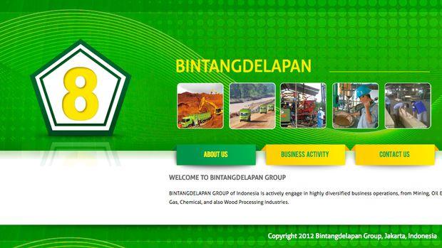 Situs PT Bintang Delapan Tak Bisa Diakses Malam Ini