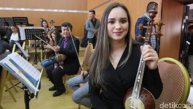 Gadis Uyghur yang bikin hati meleleh (Fitraya/detikTravel)