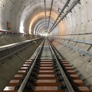 Mau Diuji Coba, Seluruh Rel MRT Jakarta Tersambung Akhir Juni