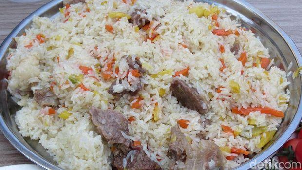 Senampan Pilaf yang lezat (Fitraya/detikTravel)
