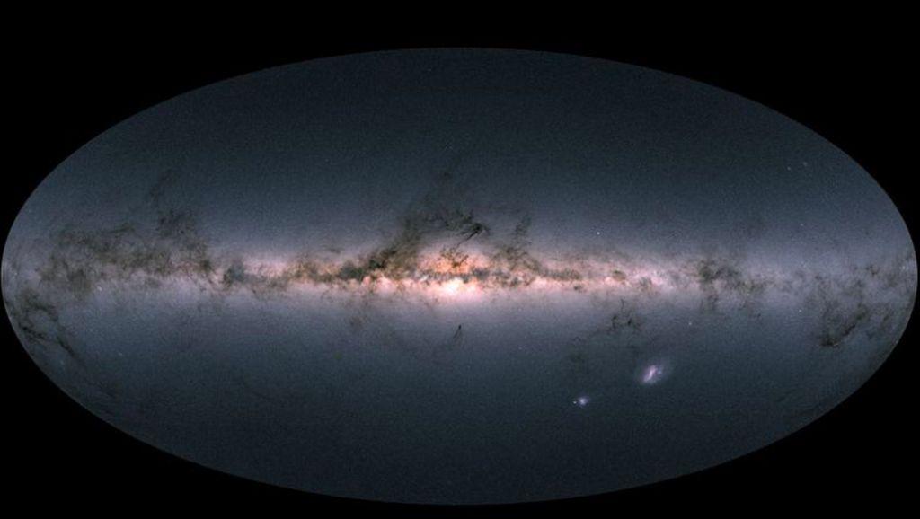 Peta Mengagumkan 1,7 Miliar Bintang di Galaksi Bima Sakti