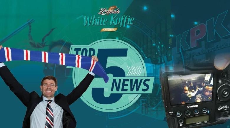Anggota DPR Kena OTT KPK, Gerrard Terima Tawaran Rangers