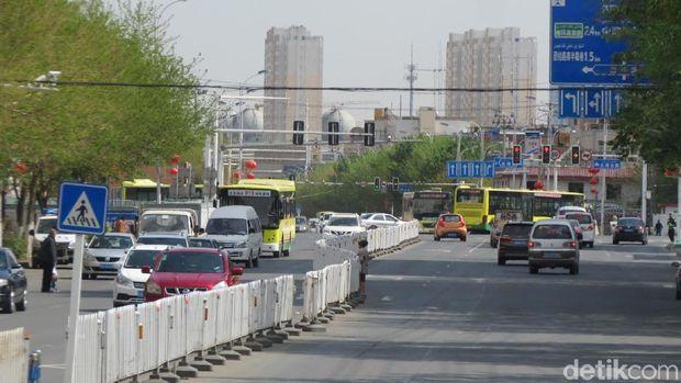 Suasana Kota Urumqi (Fitraya/detikTravel)