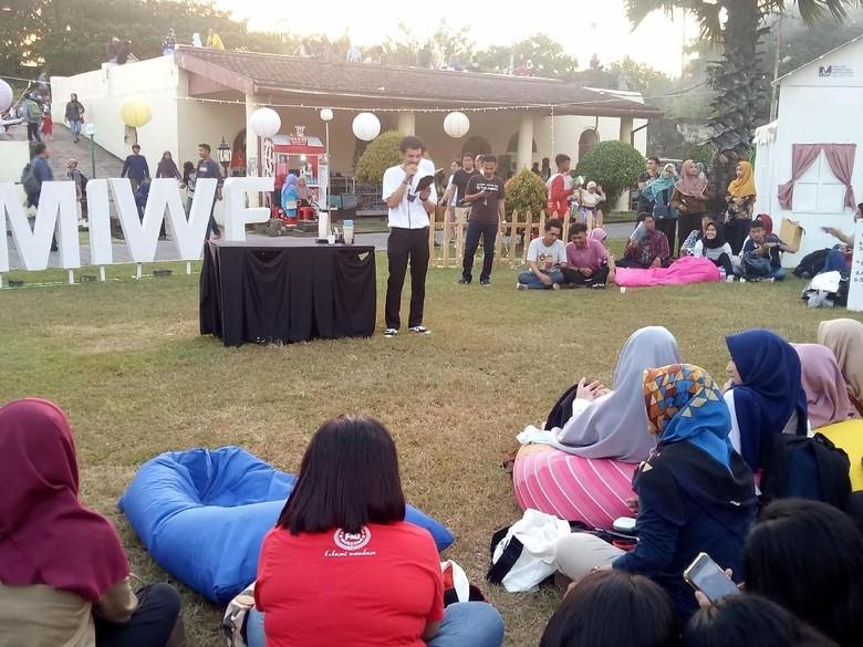 Tak Hanya Puisi dan Buku, MIWF 2018 Juga Peduli Lingkungan