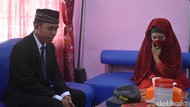 Foto: Pernikahan Penuh Haru 2 Sejoli yang Terjerat Kasus Aborsi