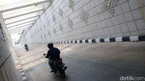 Sempat Dicorat-coret, Underpass Matraman Kini Bersih