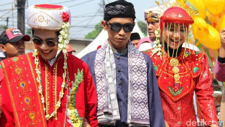 Foto: Festival Palang Pintu Kemang, simbol kekompakan Indonesia (Rifkianto Nugroho/detikTravel)