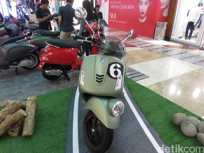 Vespa 300cc di Indonesia Ini Disapa Sei Giorni
