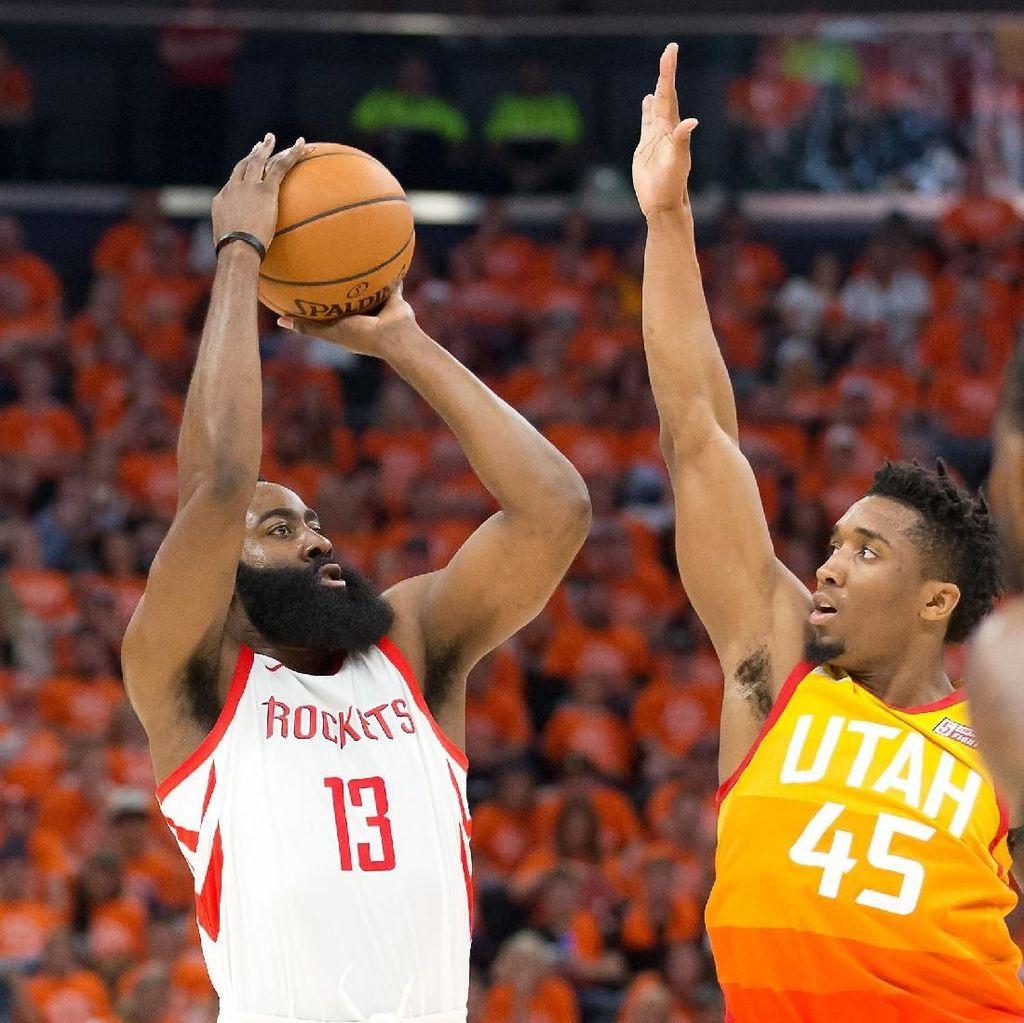 Rockets Rebut Gim Ketiga Lawan Jazz