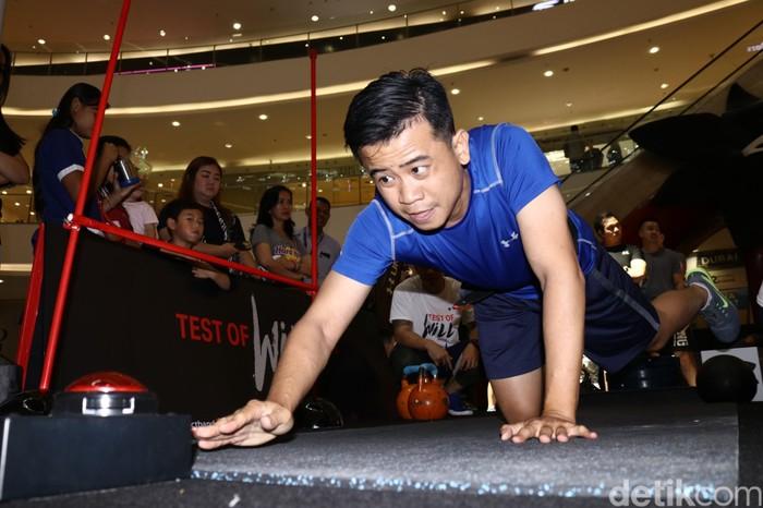 Sebanyak 350 orang mengikuti kompetisi Test of Will, sebuah kontes adu kebugaran yang digelar oleh Under Armour. Foto: Rifkianto Nugroho
