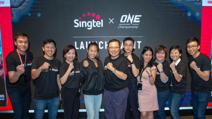 Peluncuran aplikasi mobile ONE Championship (dok.ONE Championship)
