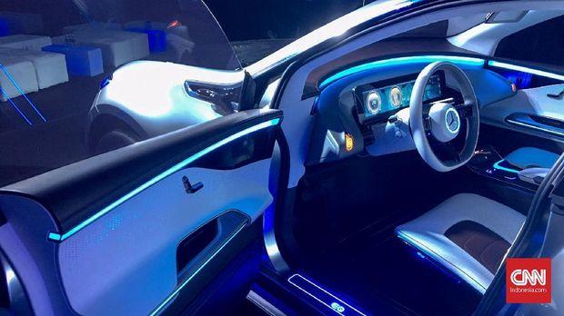 Interior Mercedes-Benz EQ