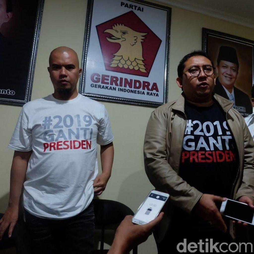 Fadli Zon Bela Ahmad Dhani: Masak Ngomong Idiot Jadi Tersangka?