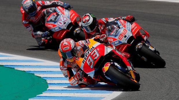 Marc Marquez punya rekor bagus di MotoGP Spanyol.