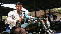 Potret Bagus, Polisi Kekar dari Bali Bergaya Hidup Sehat