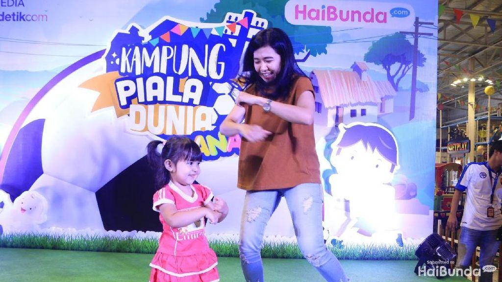Keren! Anak-anak Percaya Diri Tampil di Dance Competition