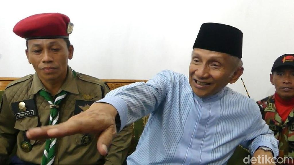 Amien Rais Sindir UU Migas Pro-asing, DPR: Bukan Barang Baru