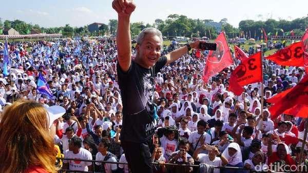 Hitung Cepat KPU 99%: Ganjar-Taj Yasin Menang Pilgub Jateng!