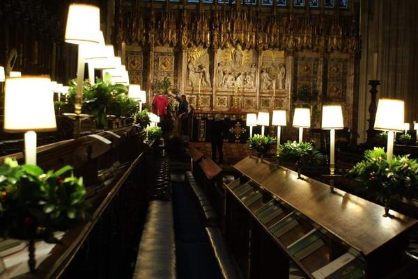 Letaknya berada di The Cloisters, Windsor, Inggris, Britania Raya (St Georges Windsor/Facebook)