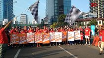 Lari Santai, ICW Gelorakan Gerakan Antikorupsi
