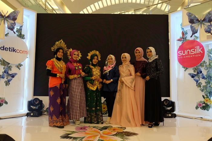 Peserta audisi Sunsilk Hijab Hunt 2018 Makassar. Foto: Kiki Oktaviani/Wolipop