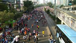 Ada Pawai Obor Asian Para Games, CFD Tetap Ada